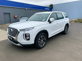 2020 Hyundai Palisade LX2.V1 MY21 AWD White Cream 8 Speed Sports Automatic Wagon