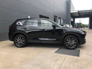 2020 Mazda CX-5 KF4WLA GT SKYACTIV-Drive i-ACTIV AWD Jet Black 6 Speed Sports Automatic Wagon.