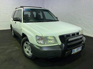 2000 Subaru Forester 79V MY00 GX AWD White 4 Speed Automatic Wagon.