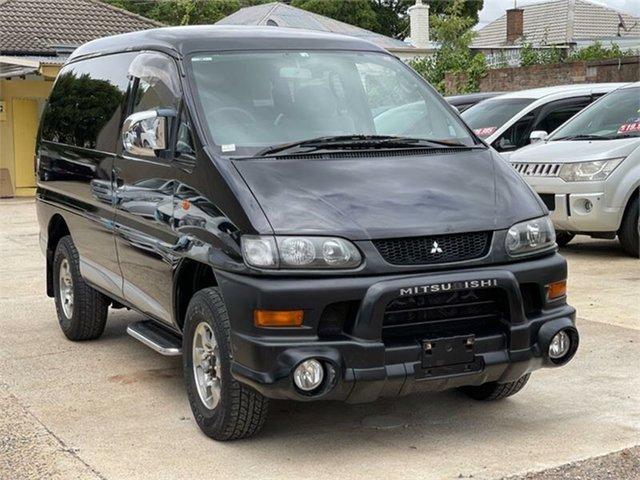 Used Mitsubishi Delica Silverwater, 2004 Mitsubishi Delica PD6W Spacegear Black Automatic Van Wagon