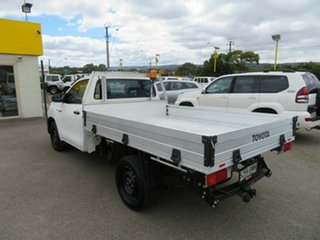 2016 Toyota Hilux TGN121R Workmate White 5 Speed Manual Utility