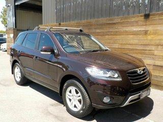 2012 Hyundai Santa Fe CM MY12 SLX Red 6 Speed Manual Wagon.