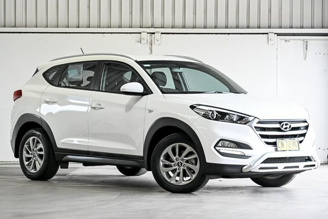Used Hyundai Tucson TLe MY17 Active 2WD Laverton North, 2017 Hyundai Tucson TLe MY17 Active 2WD White 6 Speed Sports Automatic Wagon