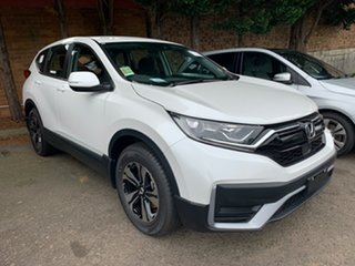 2020 Honda CR-V RW MY21 VTi FWD Platinum White 1 Speed Constant Variable Wagon