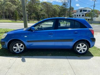 2007 Kia Rio JB MY07 LX Blue 4 Speed Automatic Hatchback