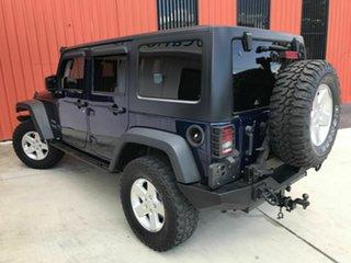 2013 Jeep Wrangler JK MY2013 Unlimited Sport Blue 6 Speed Manual Softtop.