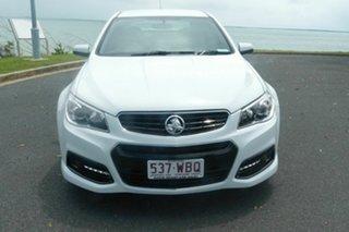 2014 Holden Commodore VF MY15 SV6 White 6 Speed Sports Automatic Sedan