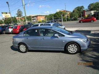2008 Honda Civic MY07 VTi Blue 5 Speed Automatic Sedan