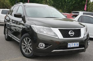2016 Nissan Pathfinder R52 MY16 ST-L X-tronic 2WD Midnight Jade 1 Speed Constant Variable Wagon.
