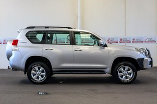2010 Toyota Landcruiser Prado KDJ150R GXL Silver Pearl 5 Speed Sports Automatic Wagon