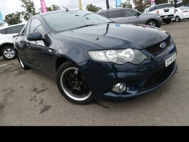 Used Ford Falcon Kingswood, FG Ford XR C/cab 4.0L DEDICATED LPI I6 6 Speed Floor Auto (4 (LYBD9Z3)