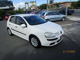2007 Volkswagen Golf 1K 1.6 Comfortline White 6 Speed Direct Shift Hatchback.