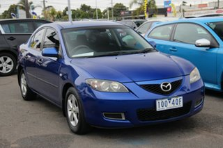 2008 Mazda 3 BK10F2 MY08 Neo Sport Blue 5 Speed Manual Sedan.