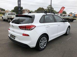 2018 Hyundai i30 PD MY18 Go White 6 Speed Sports Automatic Hatchback.