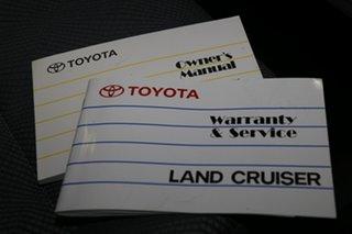 2014 Toyota Landcruiser VDJ76R MY13 GXL White 5 Speed Manual Wagon