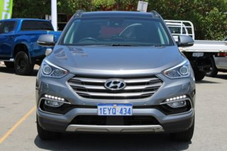 2016 Hyundai Santa Fe DM3 MY17 Highlander Silver 6 Speed Sports Automatic Wagon.