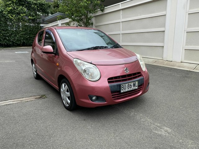 Used Suzuki Alto GF GL Zetland, 2013 Suzuki Alto GF GL Pink 5 Speed Manual Hatchback