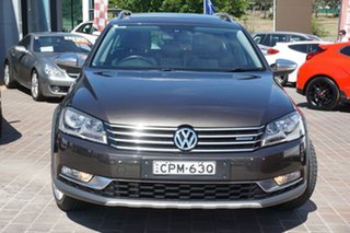 2013 Volkswagen Passat Type 3C MY13.5 Alltrack DSG 4MOTION Black 6 Speed.