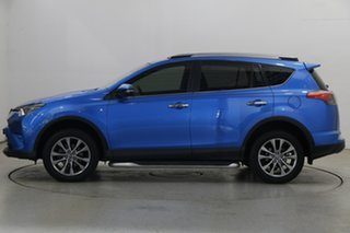2017 Toyota RAV4 ASA44R Cruiser AWD Blue 6 Speed Sports Automatic Wagon.