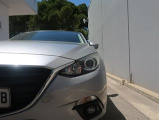 2015 Mazda 3 BM5438 SP25 SKYACTIV-Drive Silver 6 Speed Sports Automatic Hatchback