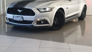 2017 Ford Mustang FM 2017MY GT Fastback SelectShift Silver, Chrome 6 Speed Sports Automatic Fastback.