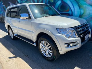 2020 Mitsubishi Pajero NX MY21 GLS Warm White 5 Speed Sports Automatic Wagon.
