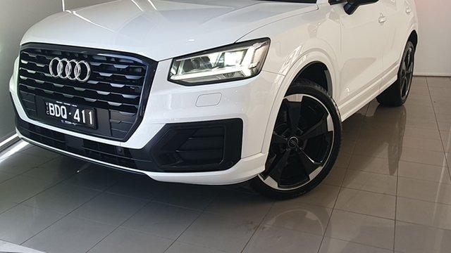 Used Audi Q2 GA MY19 35 TFSI S Tronic design Deer Park, 2018 Audi Q2 GA MY19 35 TFSI S Tronic design White 7 Speed Sports Automatic Dual Clutch Wagon