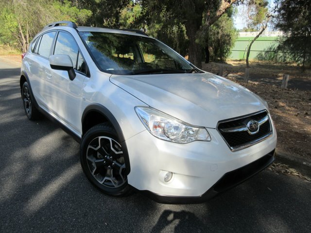 Used Subaru XV G4X MY13 2.0i Lineartronic AWD Reynella, 2013 Subaru XV G4X MY13 2.0i Lineartronic AWD White 6 Speed Constant Variable Wagon