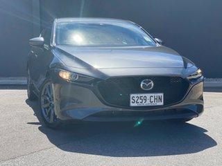 2020 Mazda 3 BP2HLA G25 SKYACTIV-Drive GT Machine Grey 6 Speed Sports Automatic Hatchback