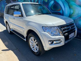 2020 Mitsubishi Pajero NX MY21 GLS Warm White 5 Speed Sports Automatic Wagon