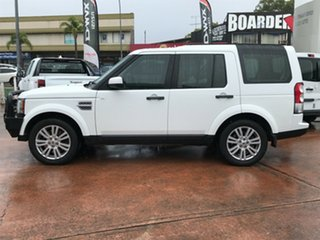 2012 Land Rover Discovery 4 MY12 3.0 SDV6 SE White 6 Speed Automatic Wagon