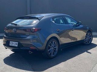 2020 Mazda 3 BP2HLA G25 SKYACTIV-Drive GT Machine Grey 6 Speed Sports Automatic Hatchback.