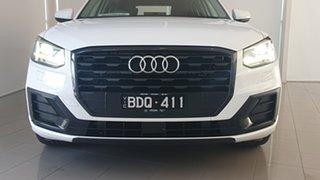 2018 Audi Q2 GA MY19 35 TFSI S Tronic design White 7 Speed Sports Automatic Dual Clutch Wagon.