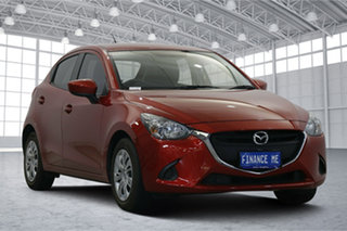 2015 Mazda 2 DJ2HA6 Neo SKYACTIV-MT Red Pearl 6 Speed Manual Hatchback.