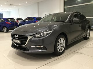 2017 Mazda 3 BN5478 Maxx SKYACTIV-Drive Machine Grey 6 Speed Sports Automatic Hatchback