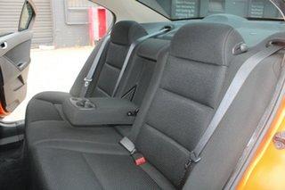 2011 Ford Falcon FG Upgrade XR6 Orange 6 Speed Auto Seq Sportshift Sedan
