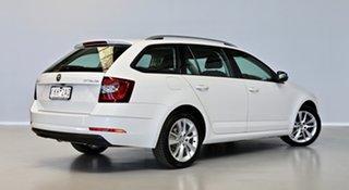 2017 Skoda Octavia NE MY18 110TSI DSG White 7 Speed Sports Automatic Dual Clutch Wagon.