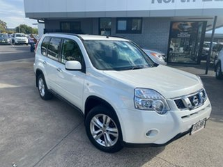 2010 Nissan X-Trail T31 MY10 TS White 6 Speed Sports Automatic Wagon.