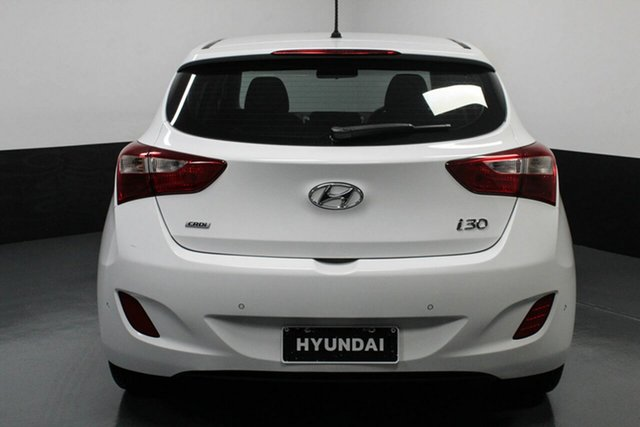 Used Hyundai i30 GD3 Series II MY16 Active DCT Cardiff, 2015 Hyundai i30 GD3 Series II MY16 Active DCT White 7 Speed Sports Automatic Dual Clutch Hatchback