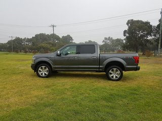 2019 Ford F150 (No Series) Platinum Grey Automatic Utility.