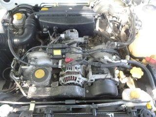 2000 Subaru Forester 79V GX White Manual Wagon