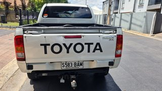 2006 Toyota Hilux GGN25R 06 Upgrade SR (4x4) Platinum Silver Metallic 5 Speed Manual