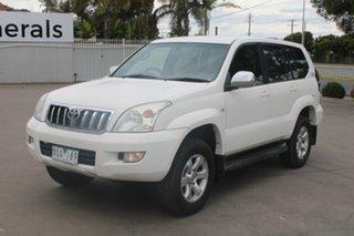 2006 Toyota Landcruiser Prado KZJ120R GXL (4x4) White 4 Speed Automatic Wagon.