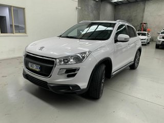 2014 Peugeot 4008 MY14 Active 2WD White 6 Speed Constant Variable Wagon.