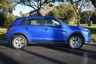 2020 Mitsubishi ASX XD MY20 ES 2WD ADAS Lightning Blue 1 Speed Constant Variable Wagon