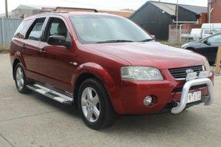 2005 Ford Territory SX TS (4x4) Maroon 4 Speed Auto Seq Sportshift Wagon.