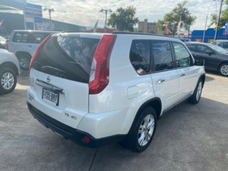 2010 Nissan X-Trail T31 MY10 TS White 6 Speed Sports Automatic Wagon