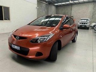 2008 Mazda 2 DE10Y1 Neo Orange 5 Speed Manual Hatchback.