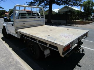 2010 Holden Colorado RC MY11 LX (4x4) White 5 Speed Manual Cab Chassis