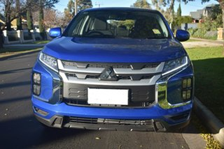 2020 Mitsubishi ASX XD MY20 ES 2WD ADAS Lightning Blue 1 Speed Constant Variable Wagon.